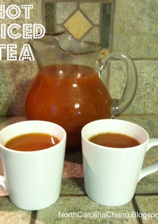 Hot Spiced Tea