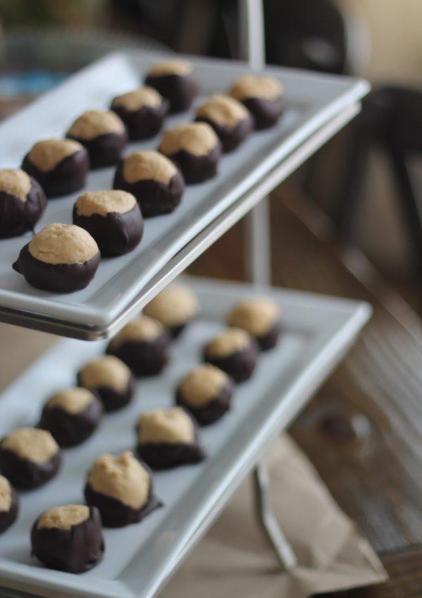 Buckeyes | No Bake Peanut Butter Balls