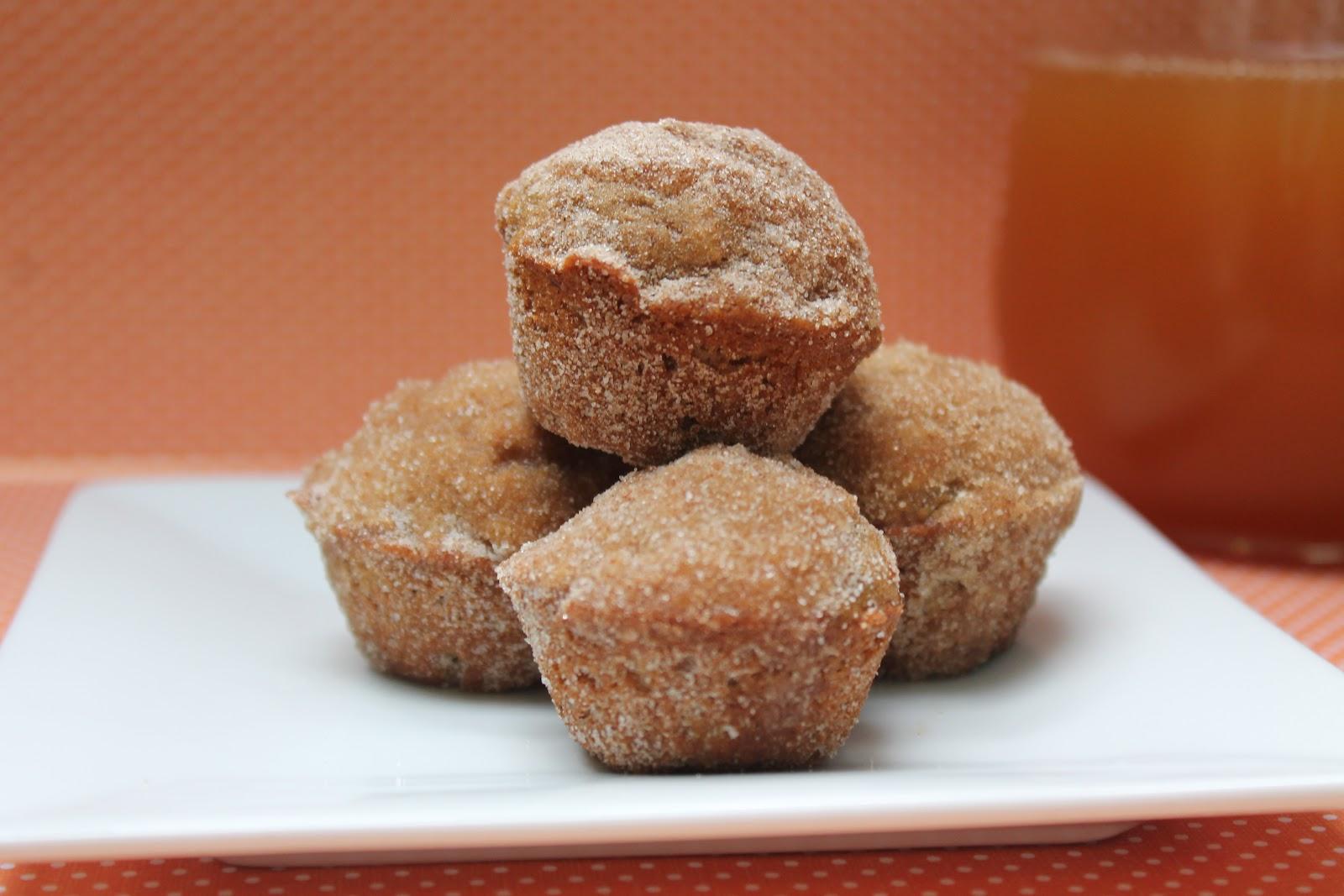 Apple Cider Mini Muffins