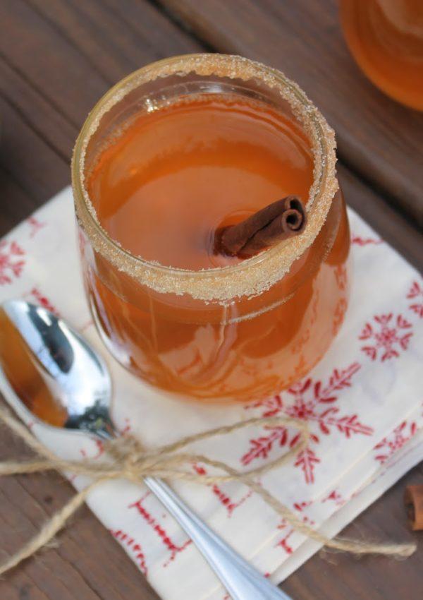 Hot Caramel Pear Cider