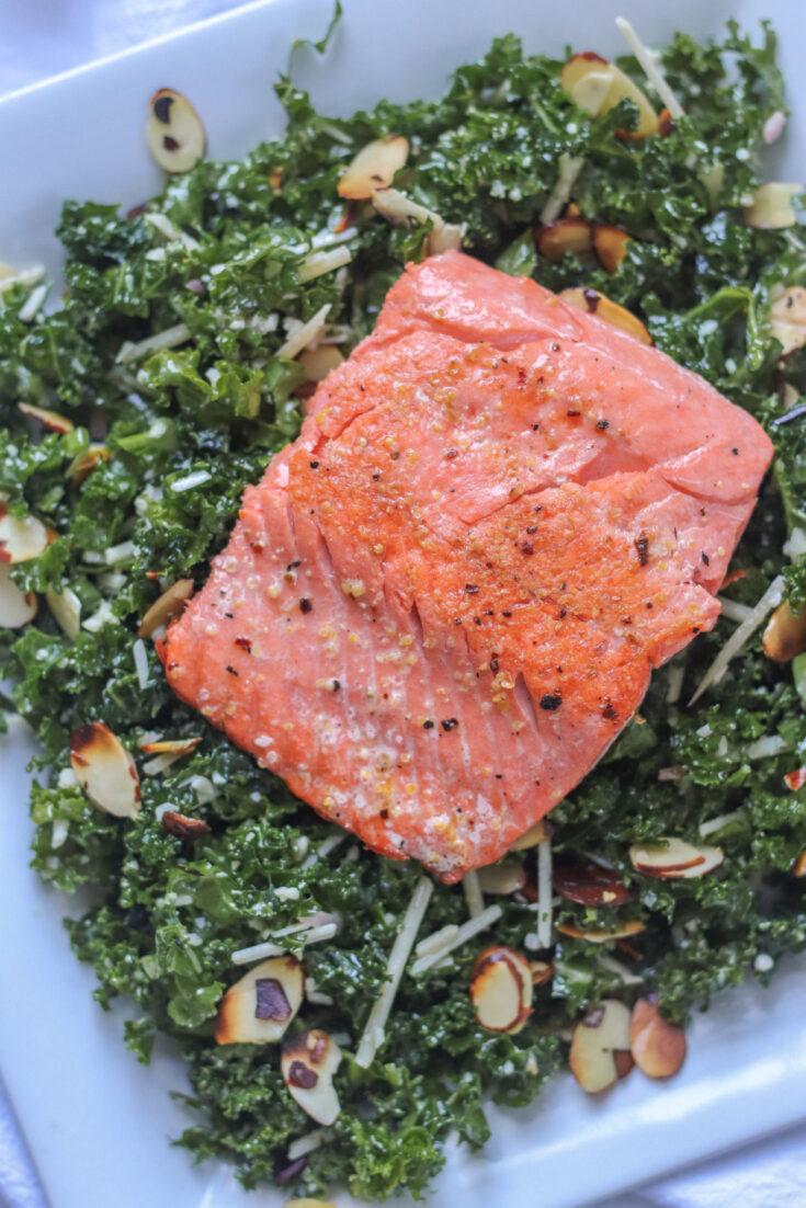 Soy Glazed Salmon Filets