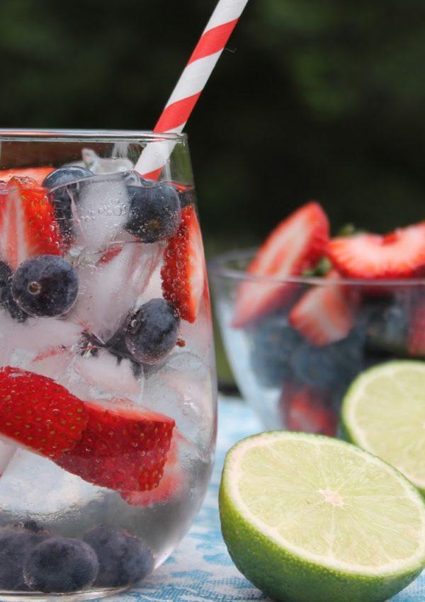 Very Berry Vodka Spritzer