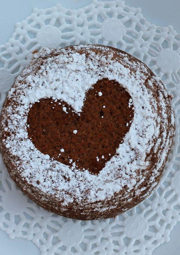 Valentine Heart Brownies