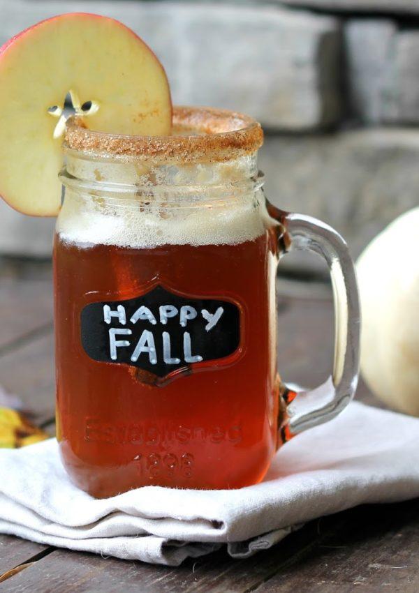 Sparkling Pumpkin Cider Beer
