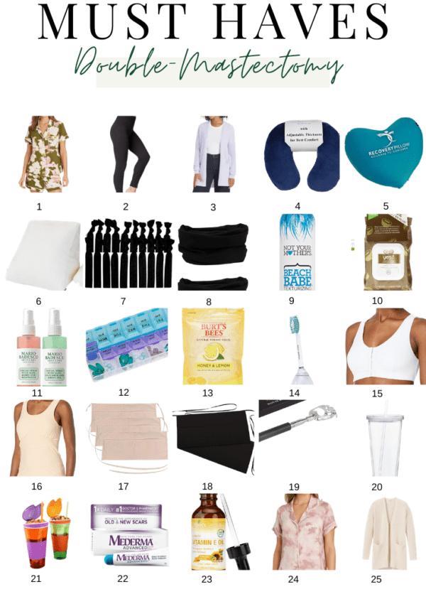 Mastectomy Planning, Necessities & Gift Ideas