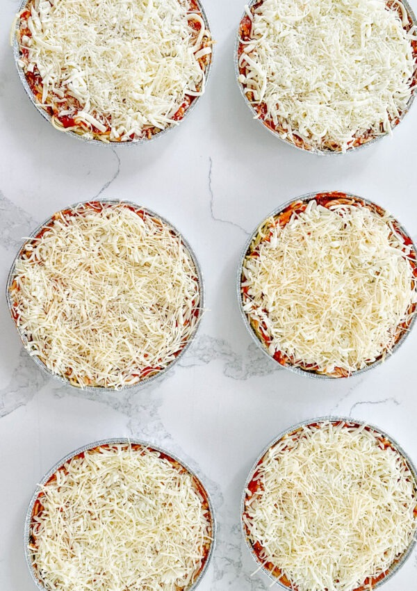 Baked Spaghetti (Easy Freezer Meal to Bring to Others)