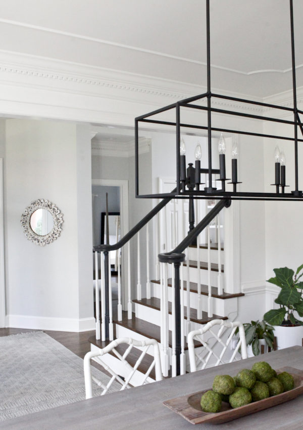 Home Tour: Staircase Makeover + Refinished Hardwoods