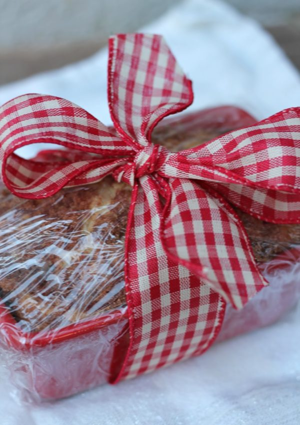 The BEST Cinnamon Bread || Christmas Gift