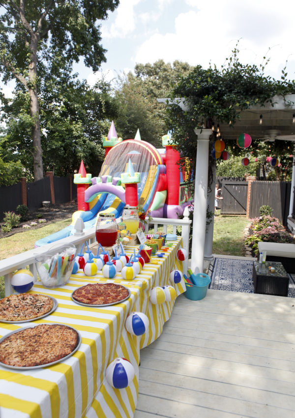 Thomas' Third Birthday Splash Party