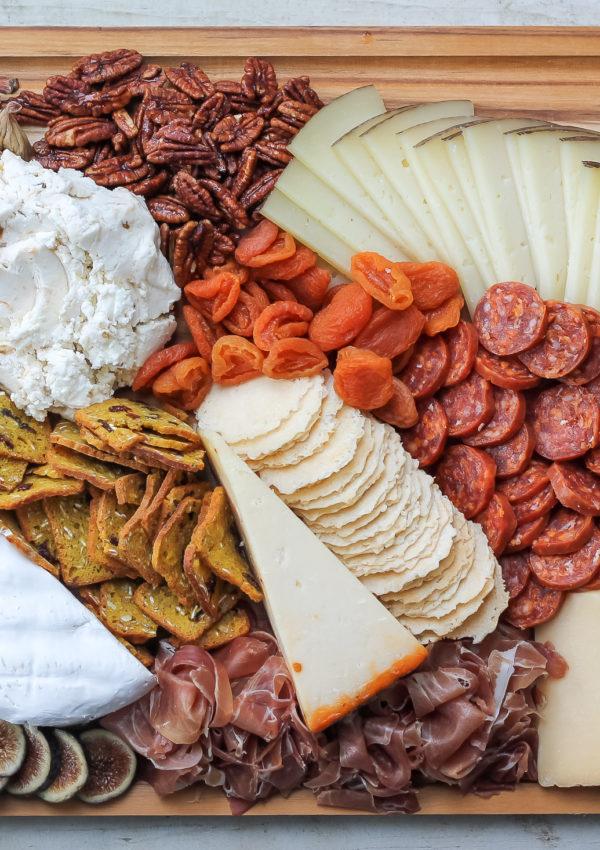 Custom Cheese & Charcuterie Board