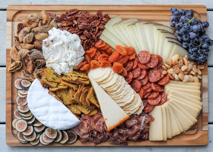 Custom Cheese & Charcuterie Board