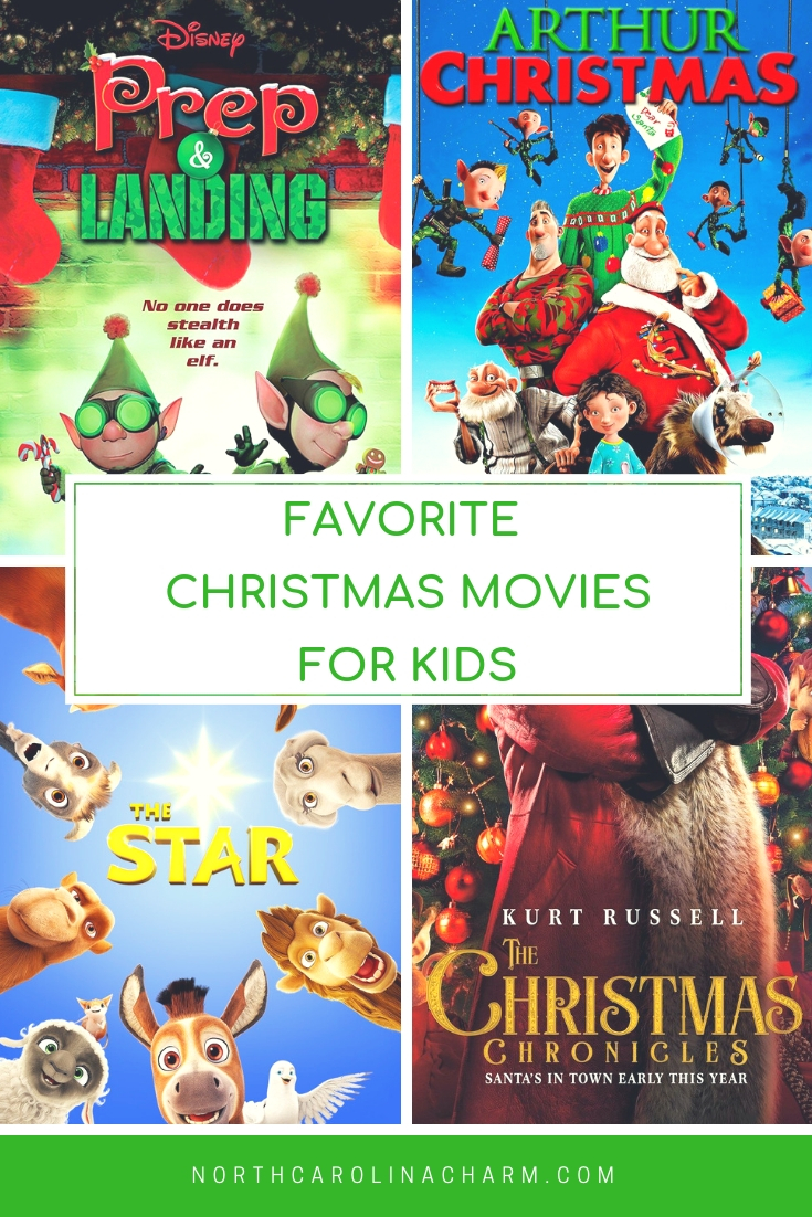 Reader Favorite Christmas Movies for Kids - Carolina Charm