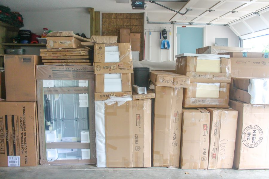 packages for kitchen reno