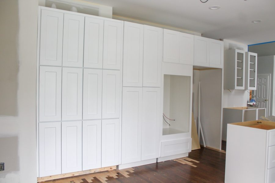 kitchen cabinetry reno