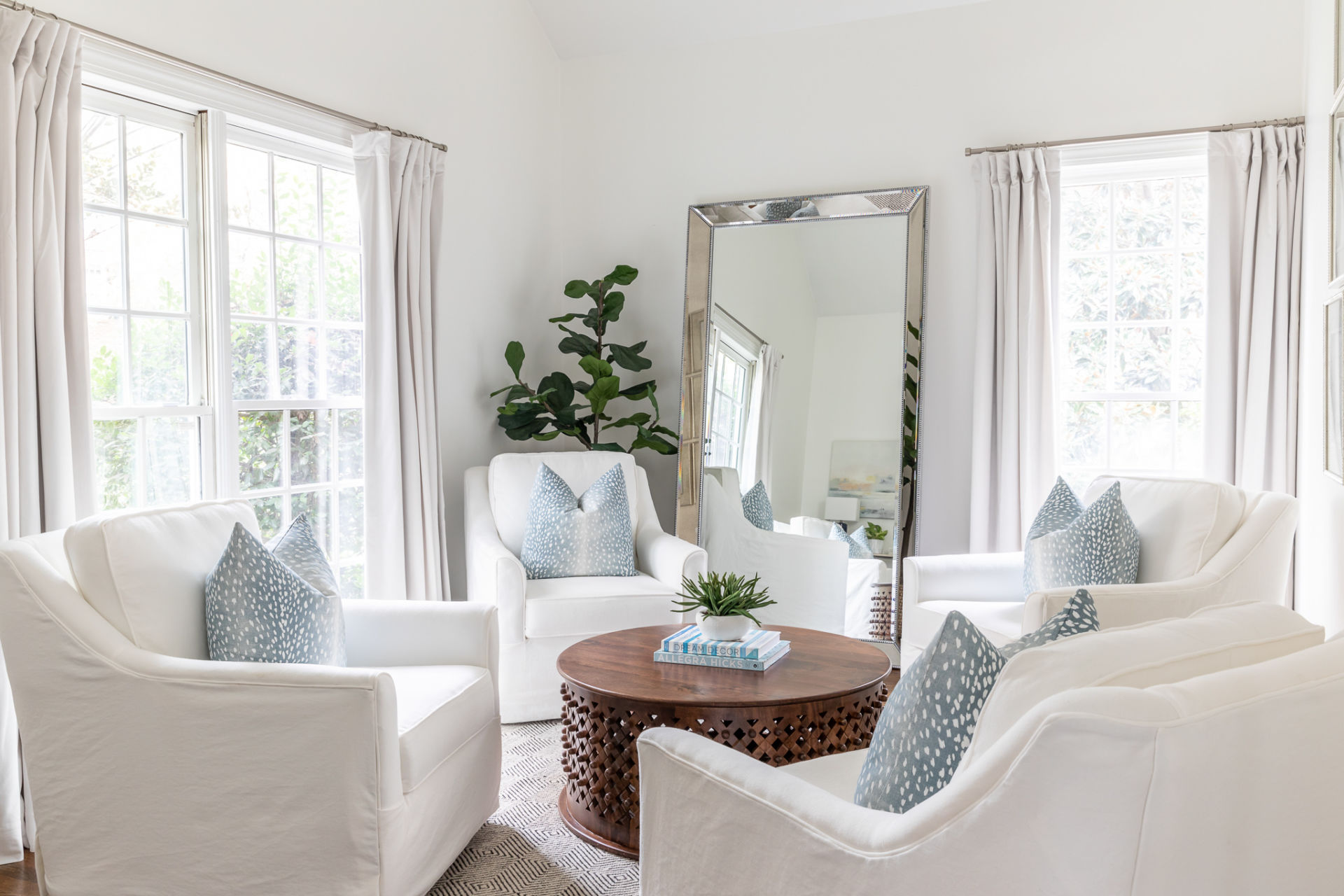 seating area in home