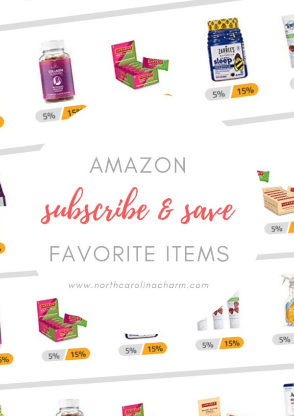 Amazon Favorites: Subscribe & Save Edition