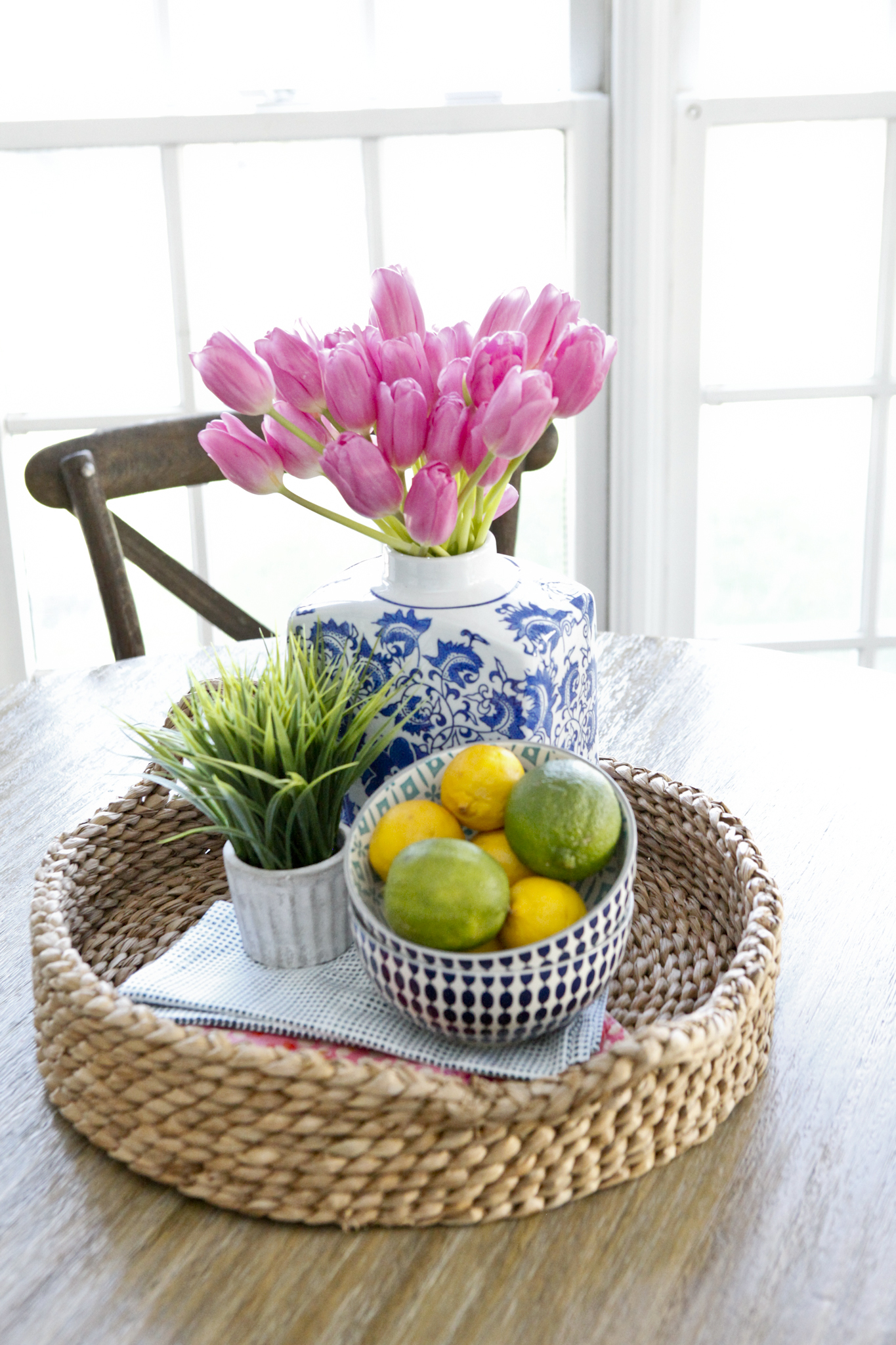 Kitchen tablescape