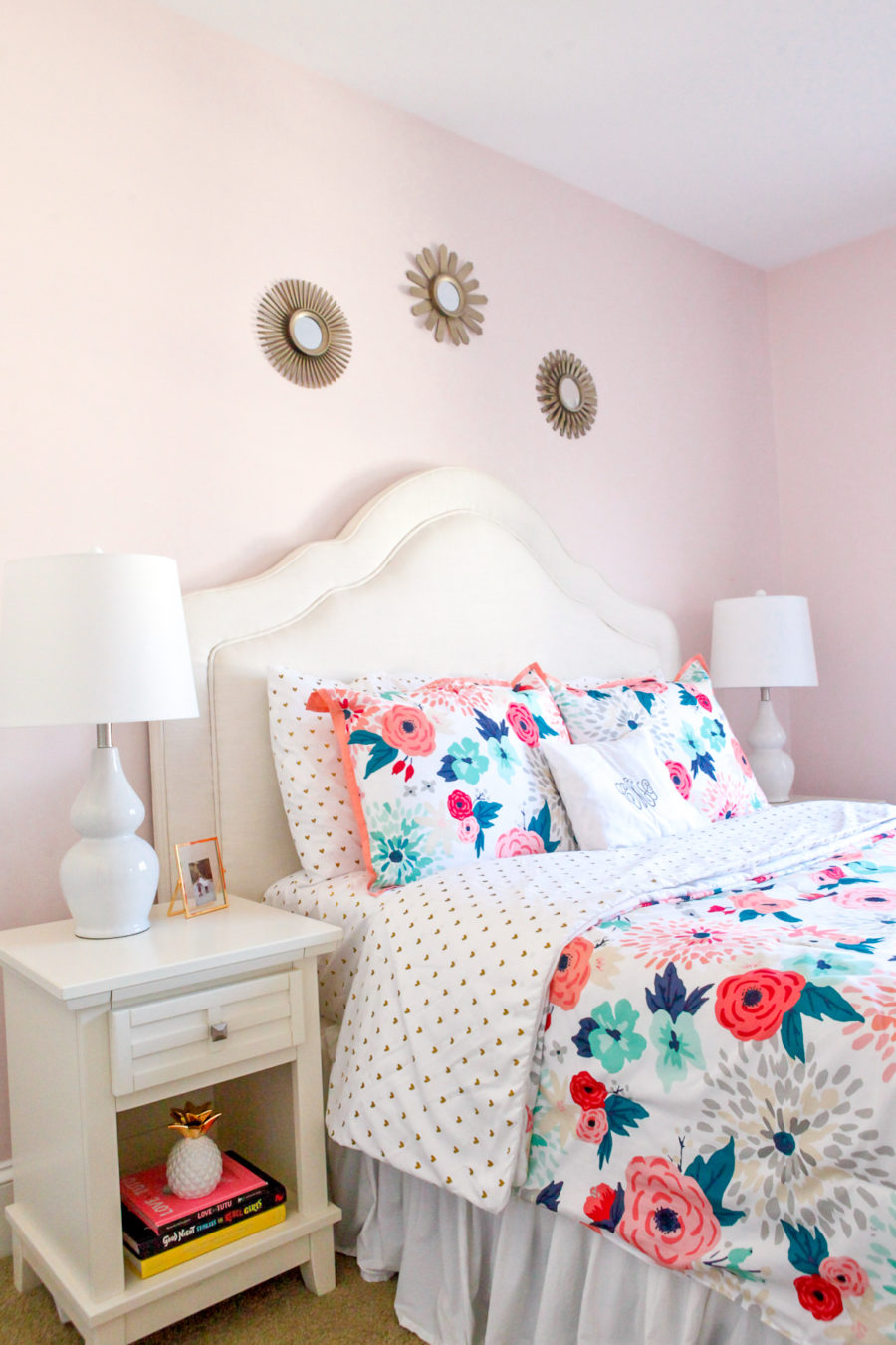 little girls room bedding
