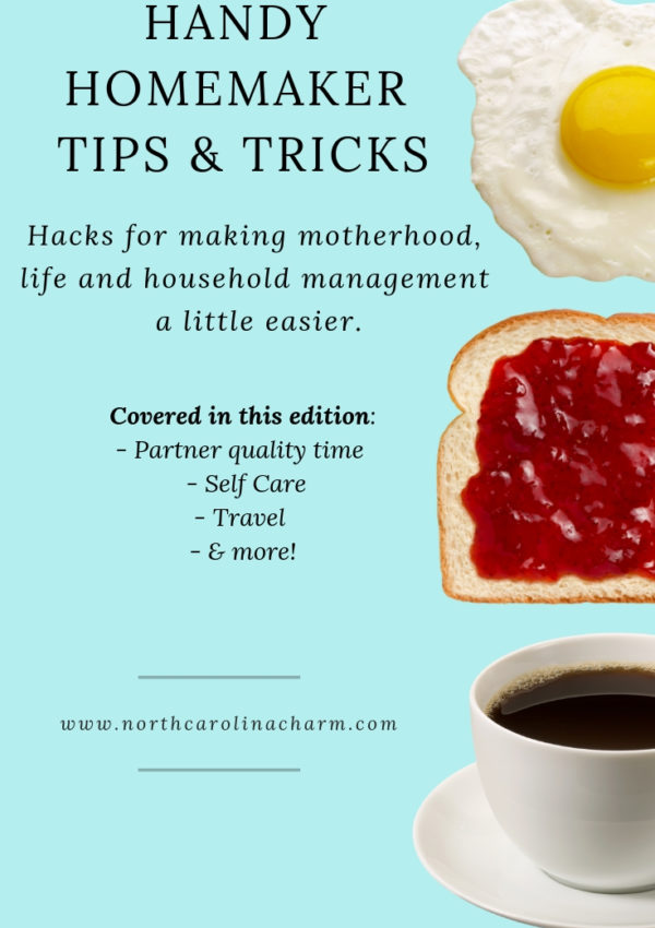 Homemaker Tips: Partner Quality Time, Self Care, Travel & More