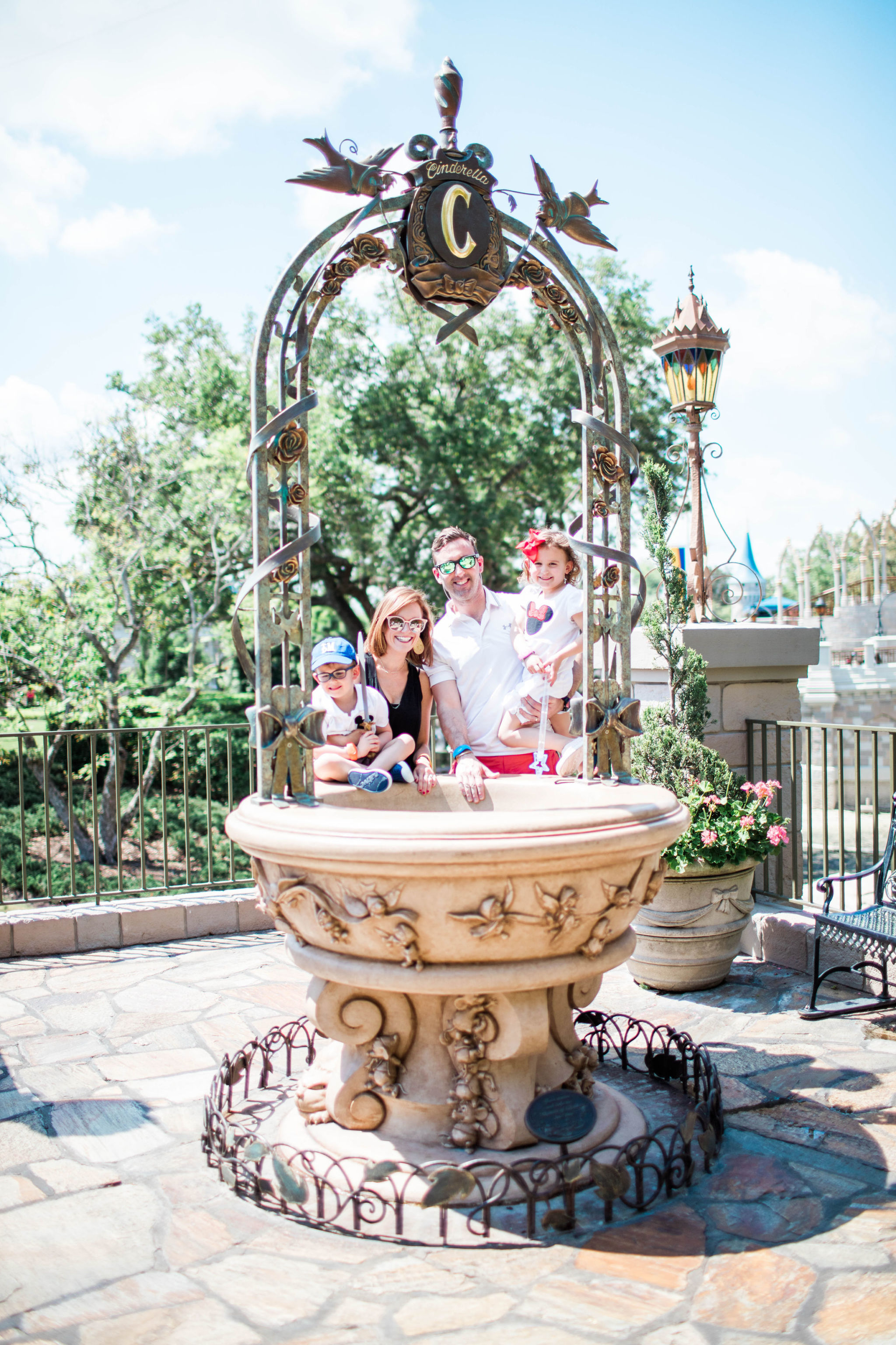 family photo spot Disney