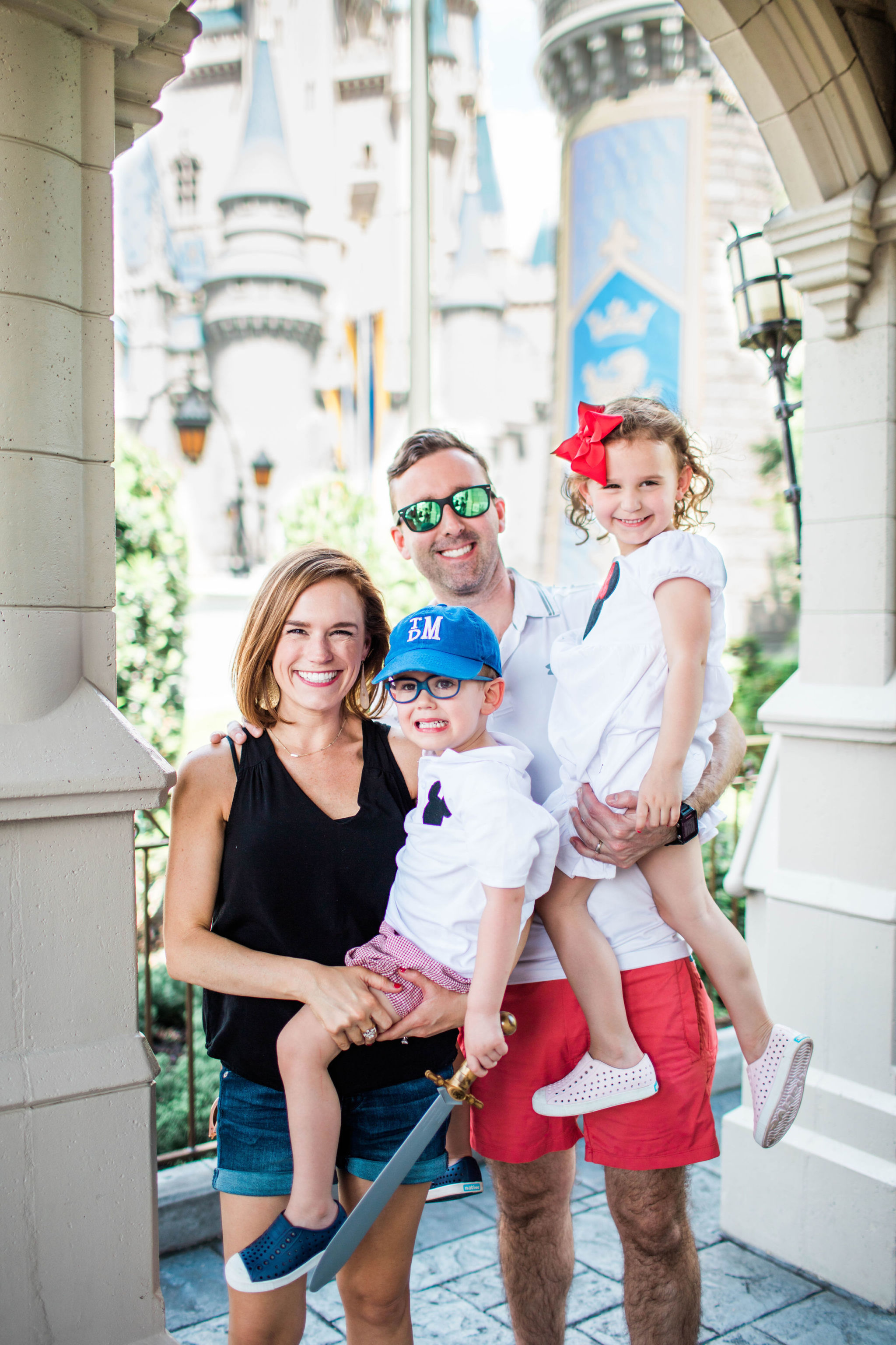 family photo Disney World