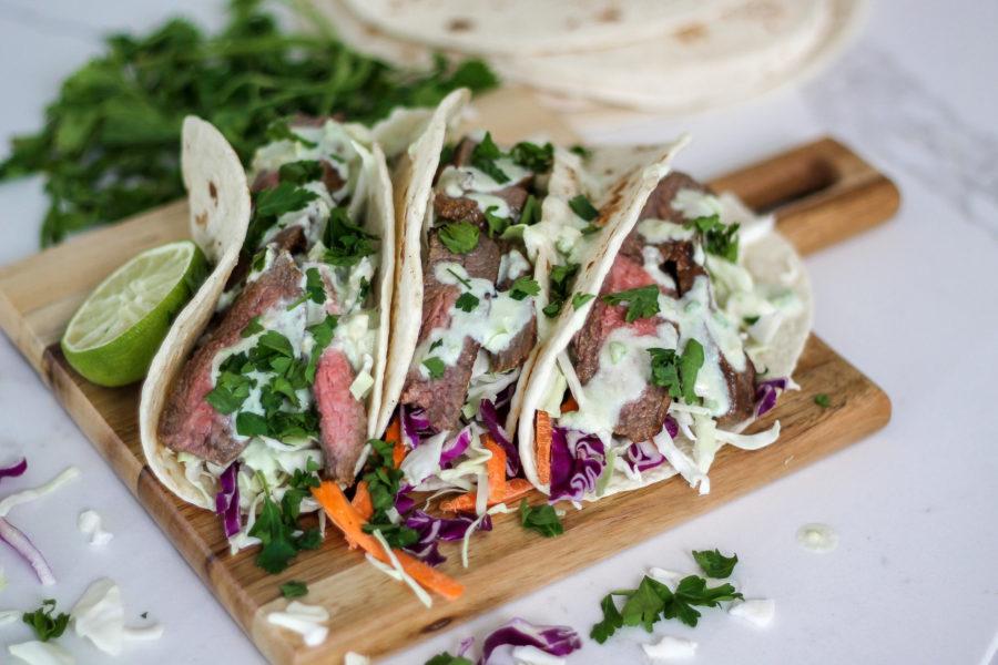 MOINK | Flank Steak Tacos
