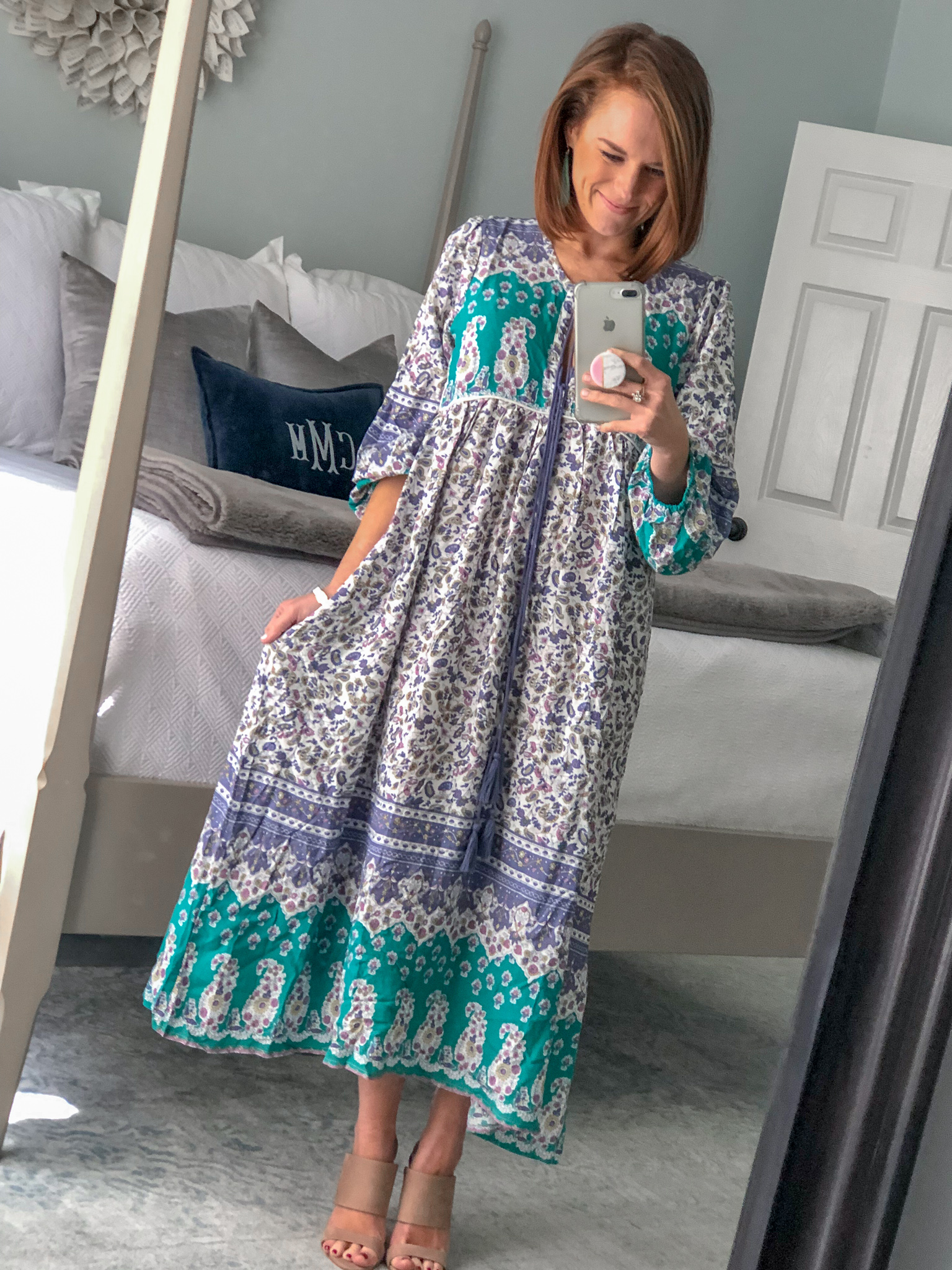 boho midi dress on Amazon