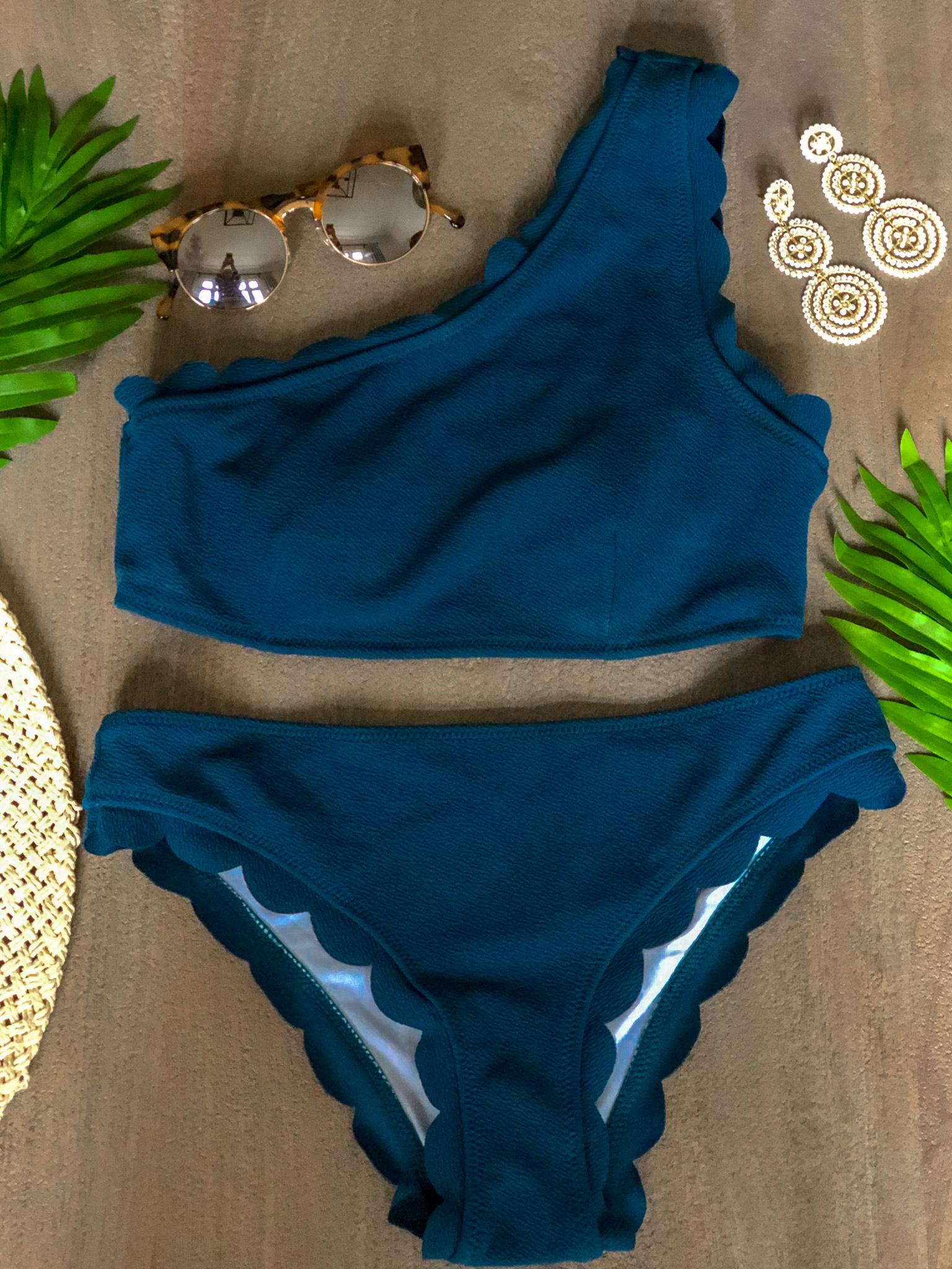 blue bikini amazon