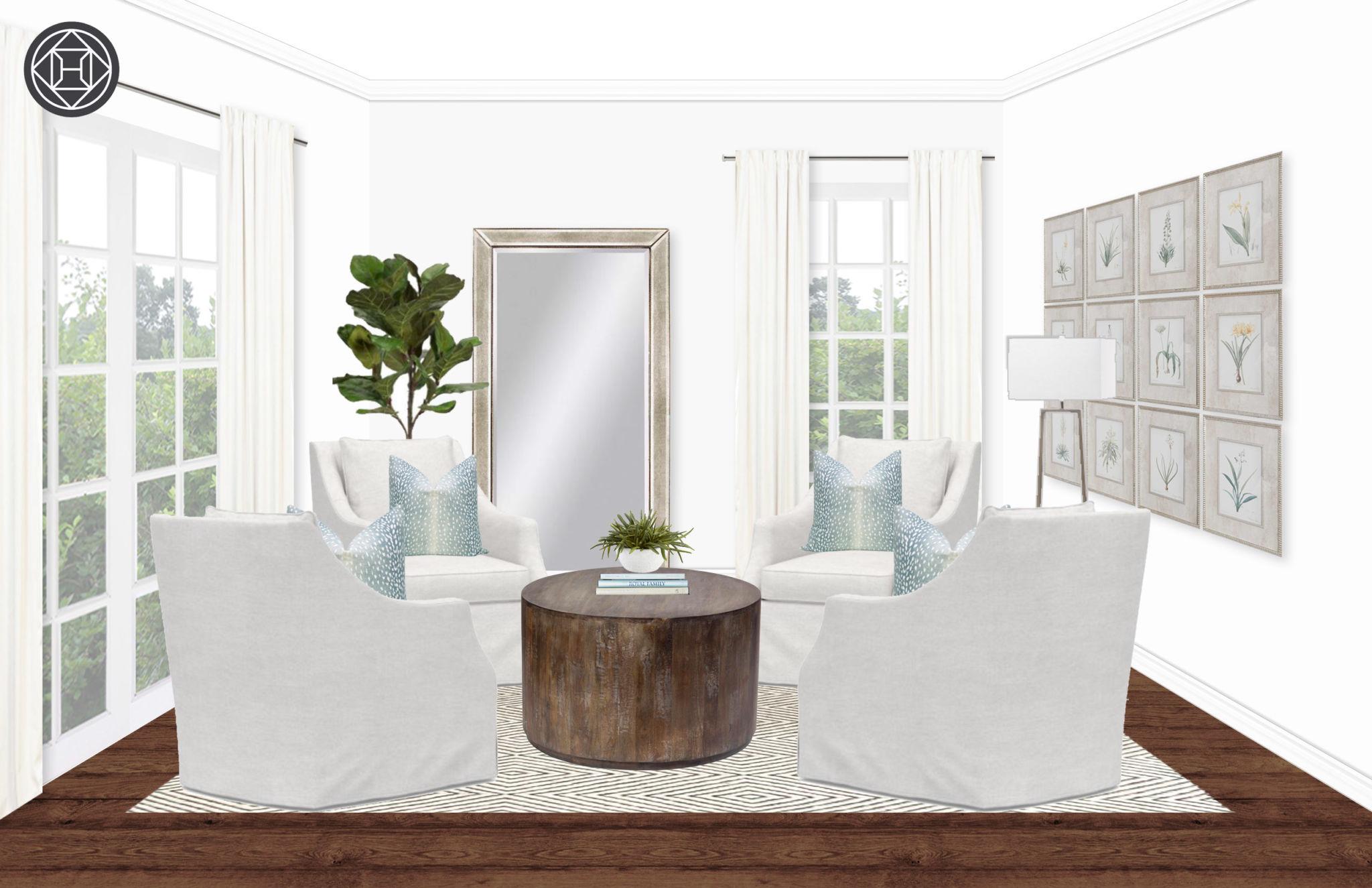 design plans circle room