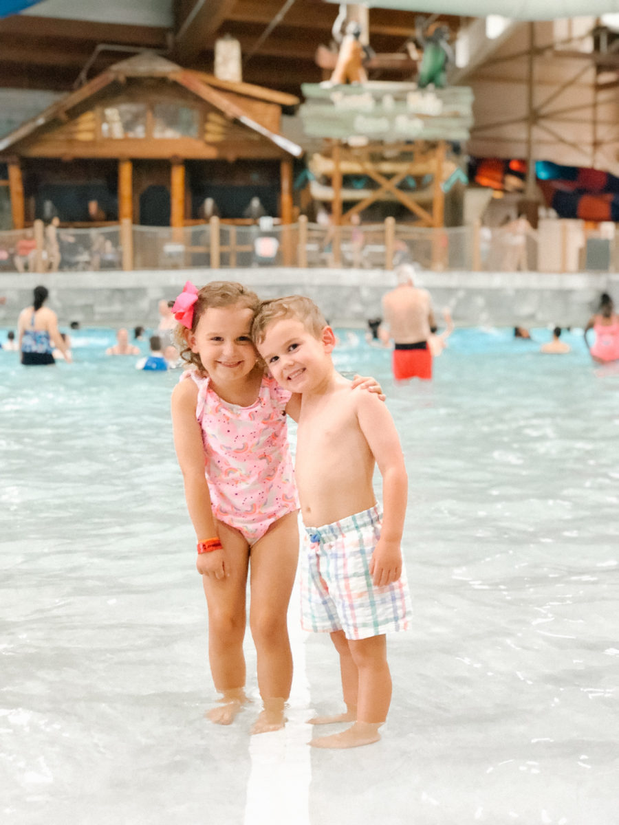 Mother's Day Weekend + Caroline's Great Wolf Lodge Birthday Party!