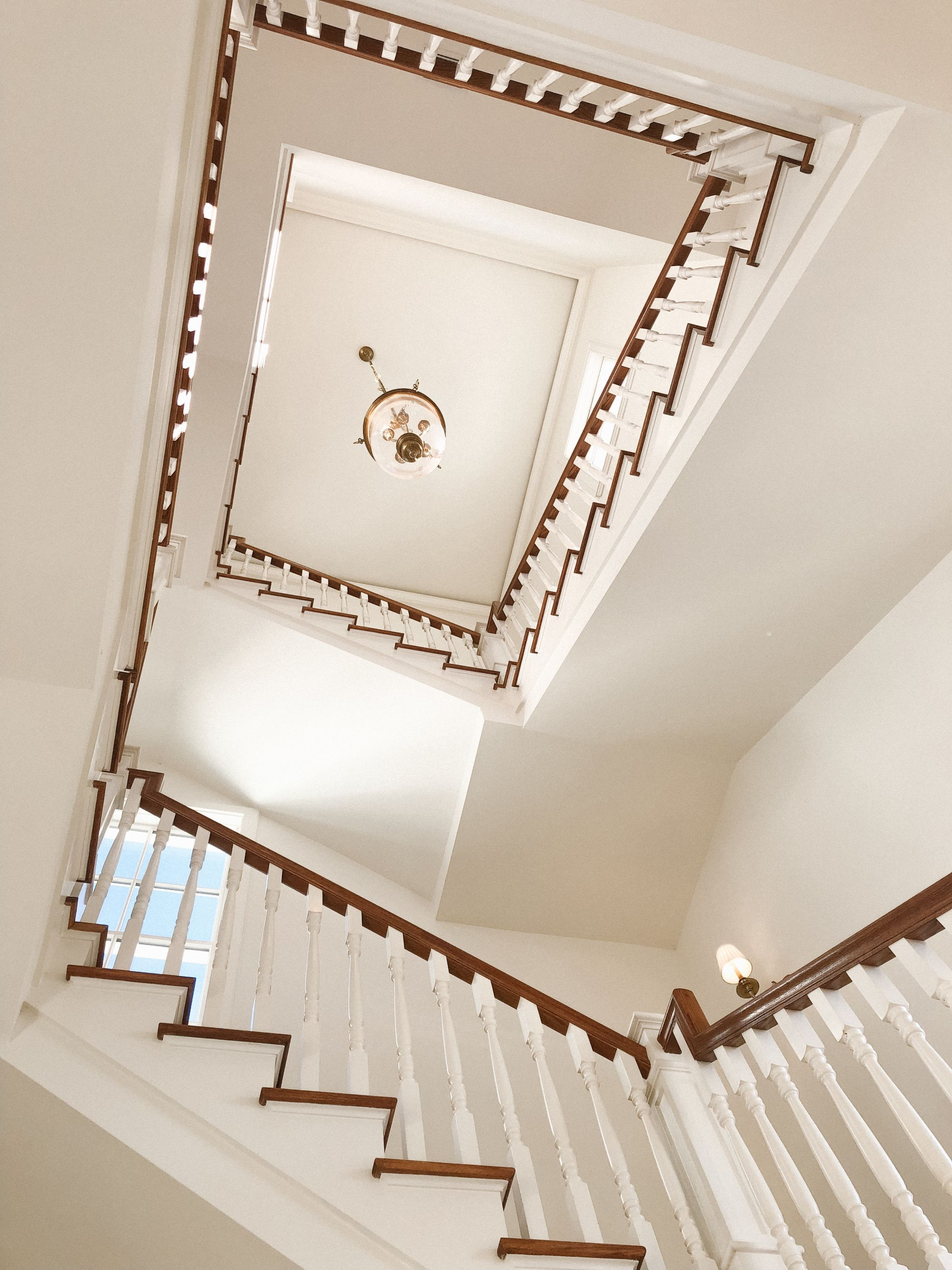 Staircase 30A Seagrove Vacation Home