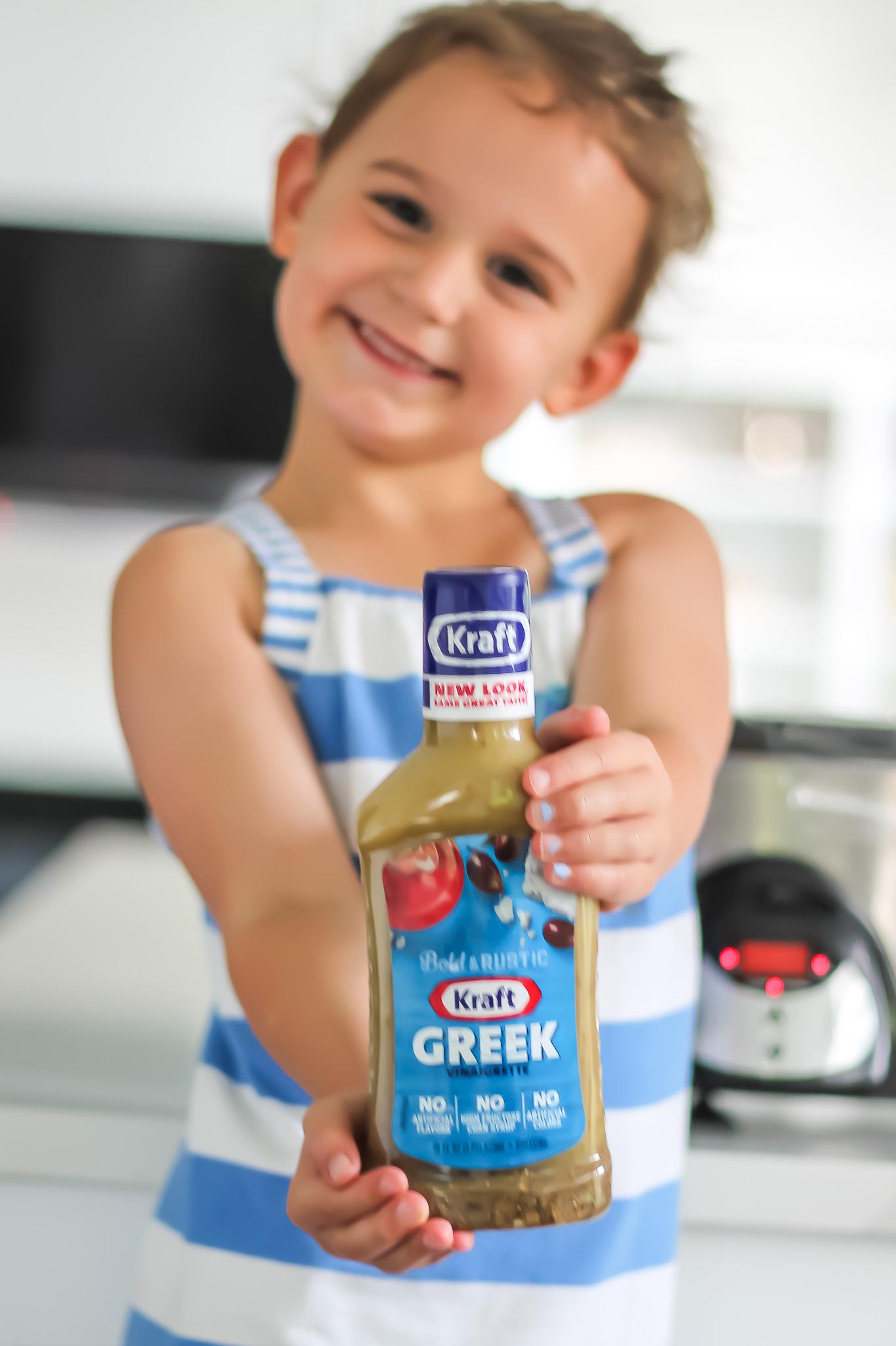 kraft greek chicken vinaigrette