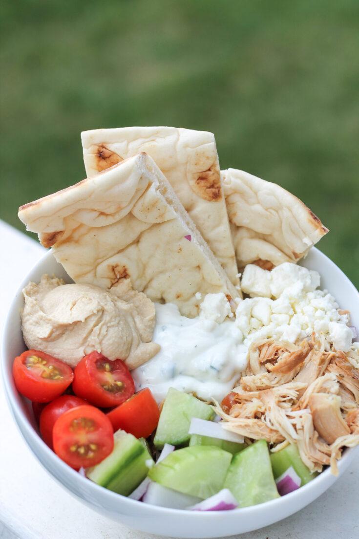 Fast Family Dinner: Greek Chicken Bowls