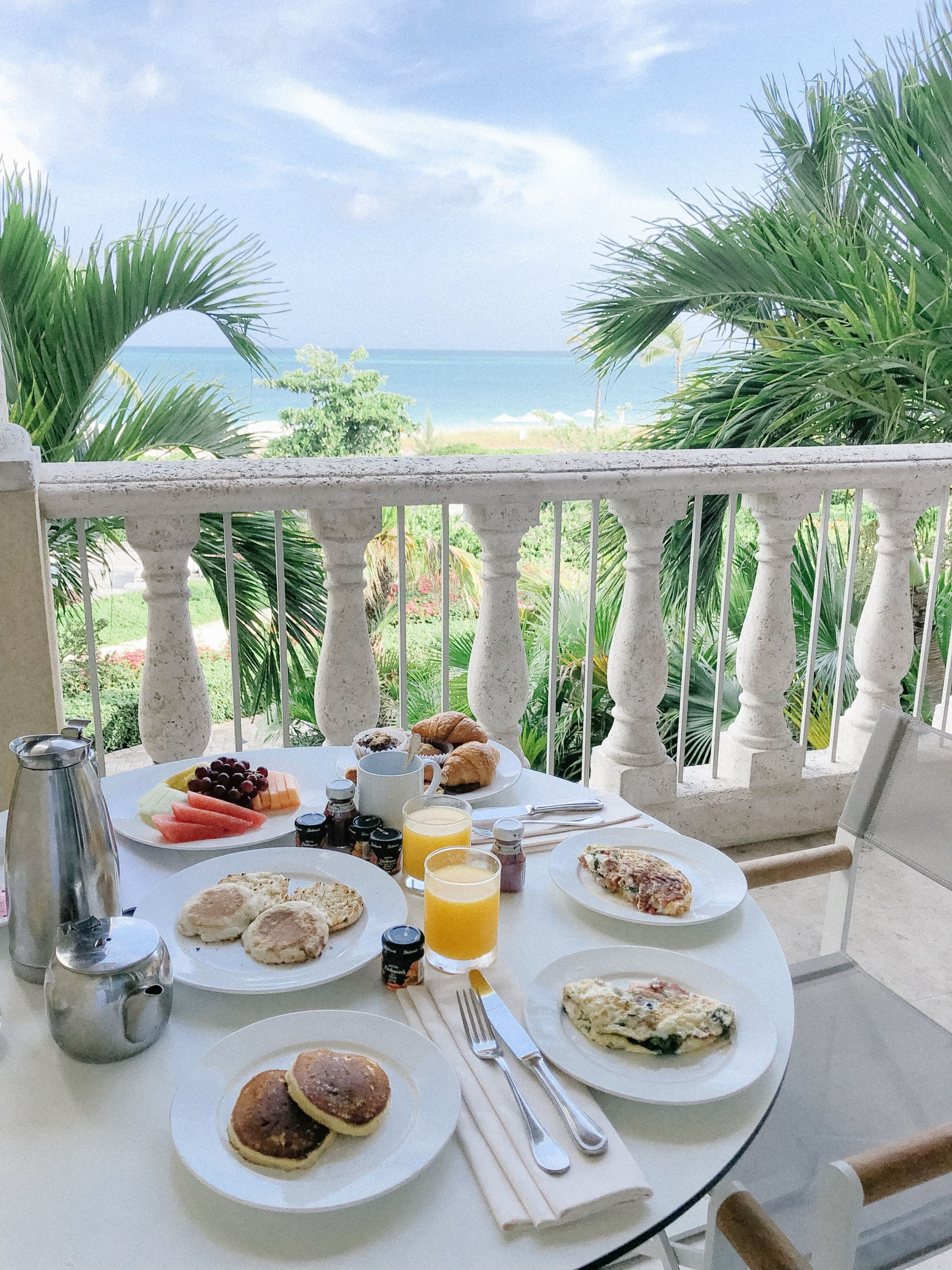 breakfast Grace Bay Club