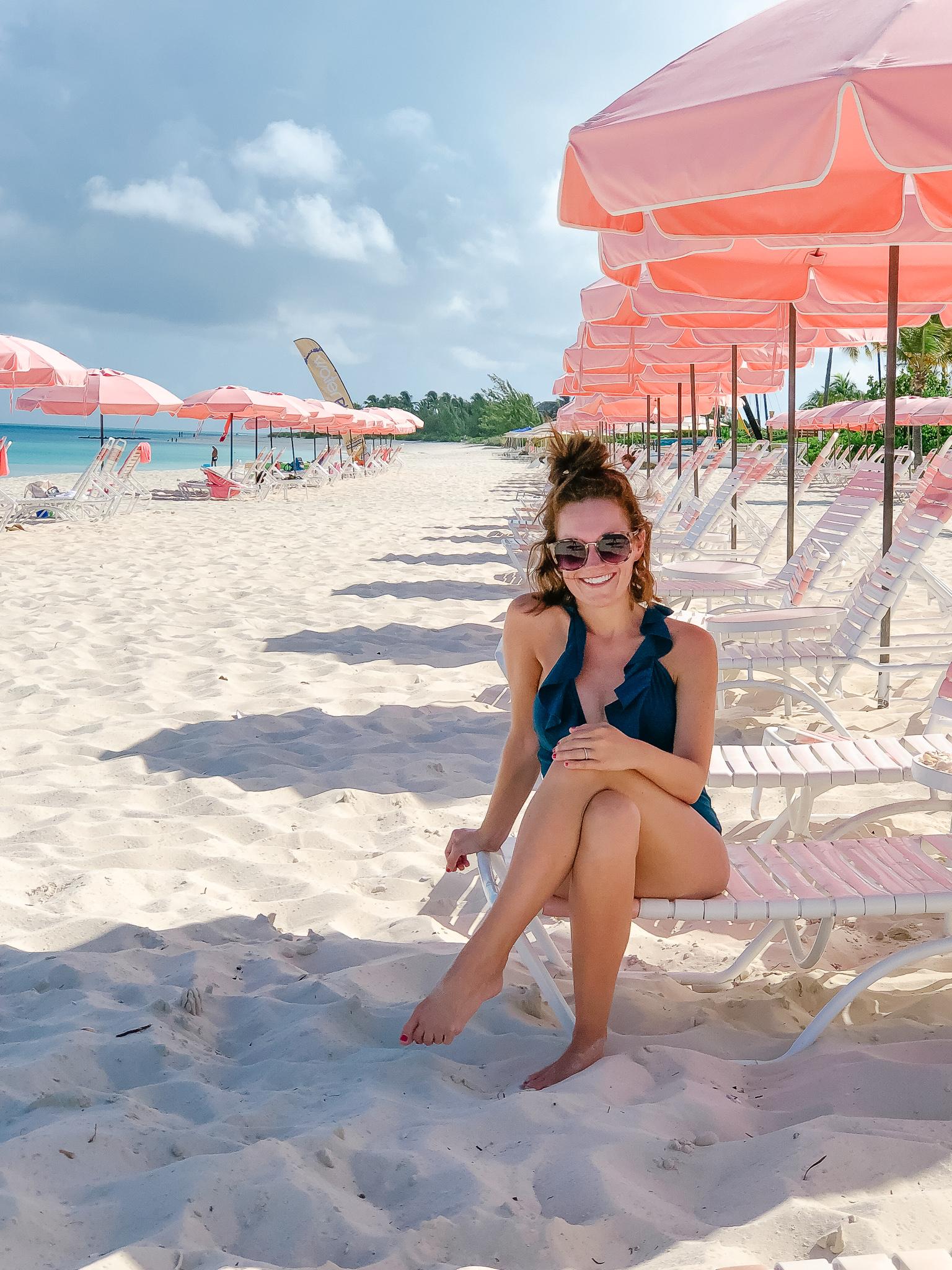 Grace Bay Club beach seating