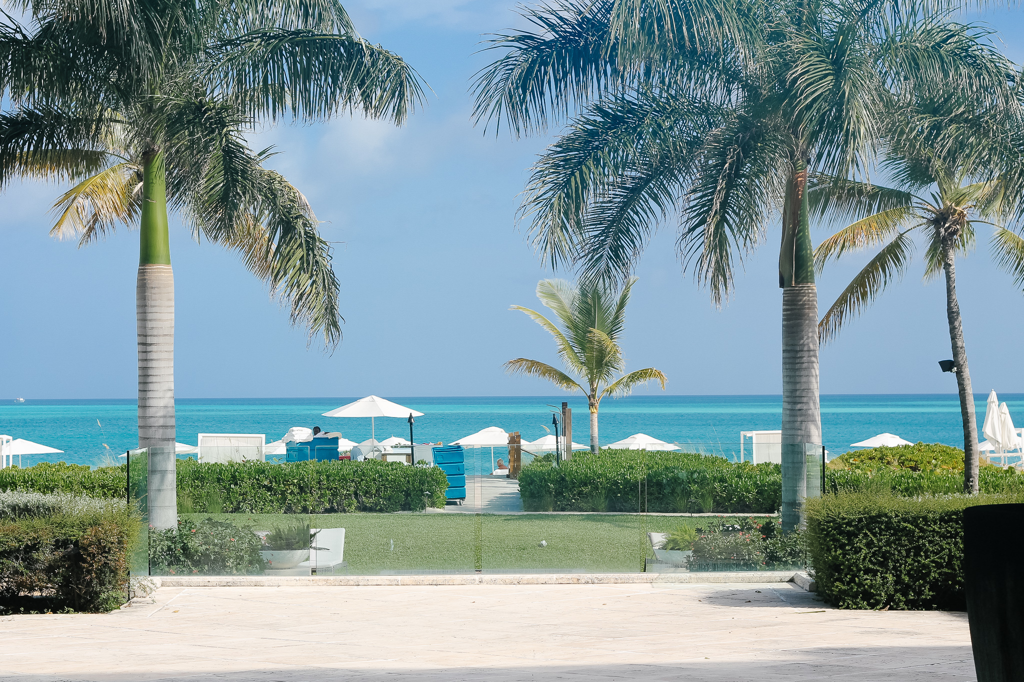 beach view Grace Bay Club Turks & Caicos