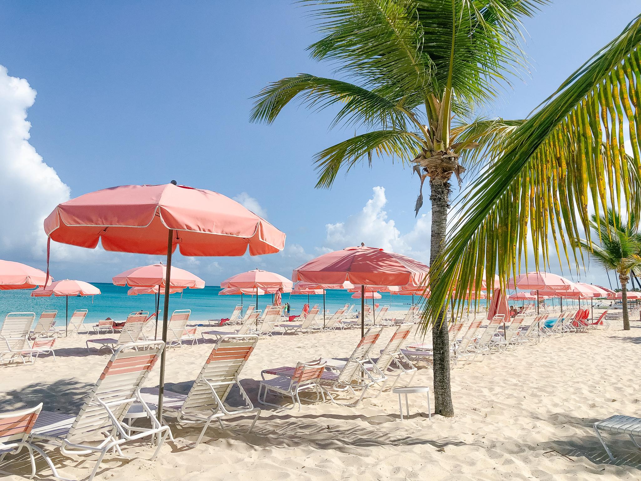 beach chairs Turks & Caicos