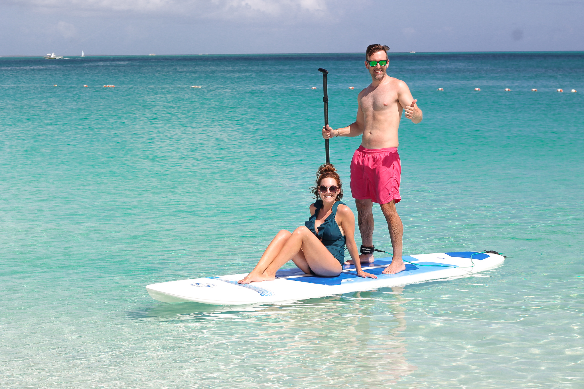 paddle boarding Turks & Caicos