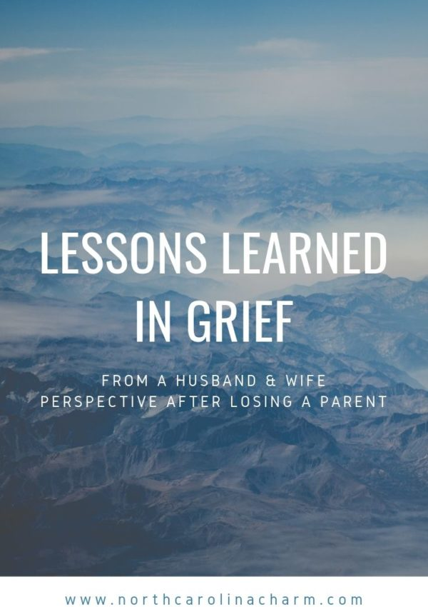 Lessons Learned in Grief