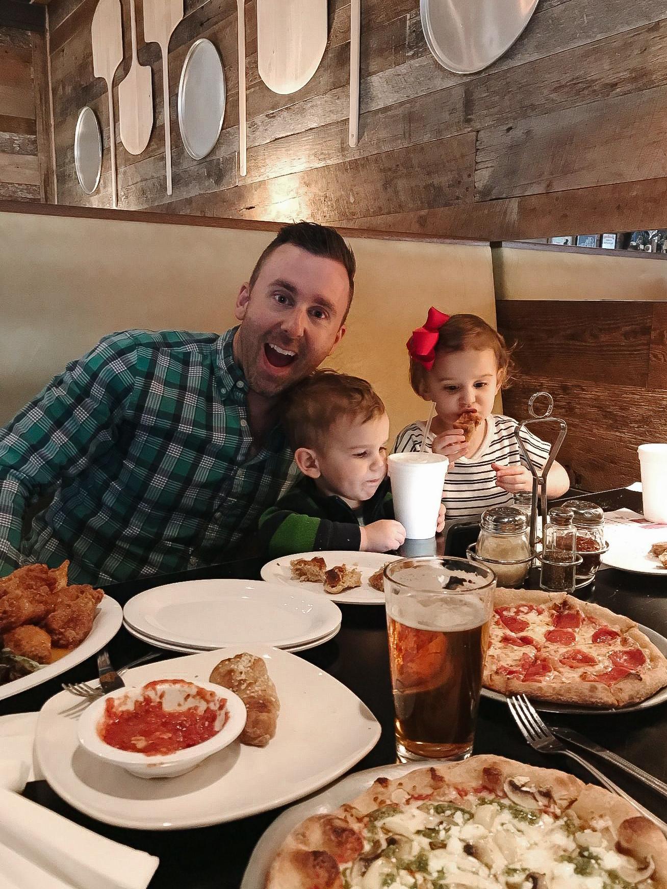 Dinner at Pizza Peel