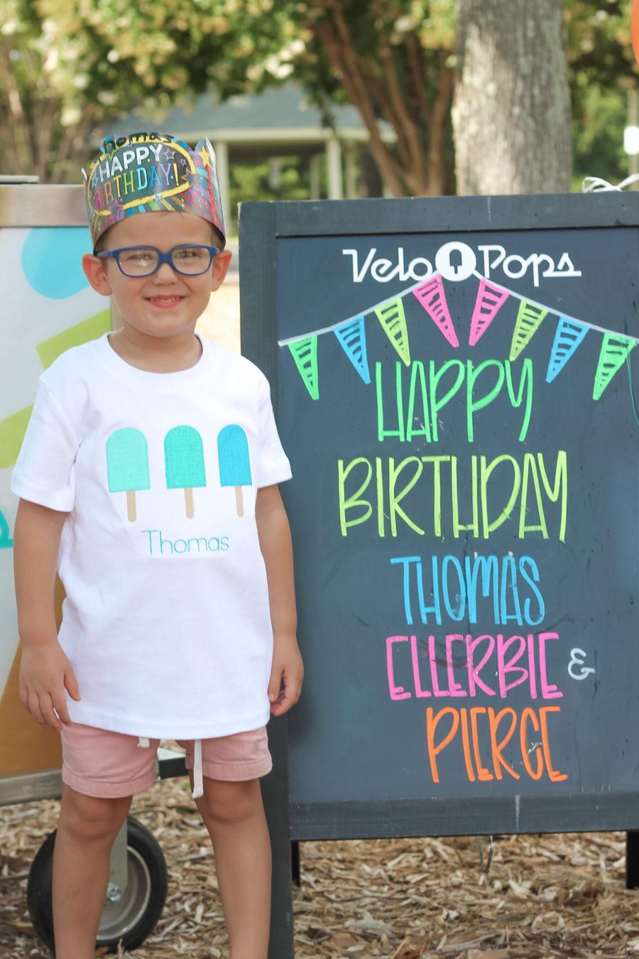 Thomas is 4!