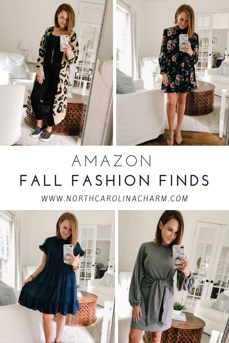 North Carolina lifestyle blogger, Christina shares Amazon Fashion Finds for August! Check out the affordable fashion picks!