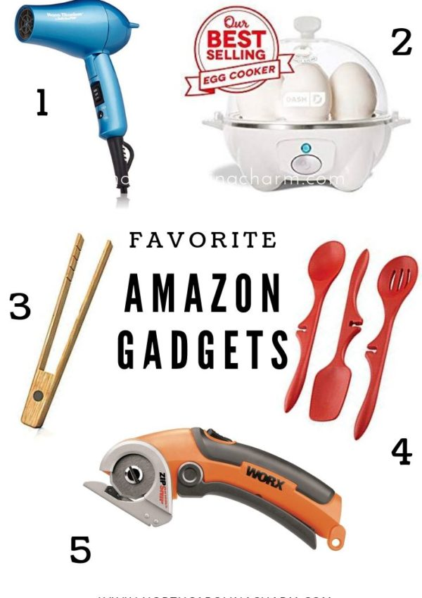 Recent Amazon Favorites (July & August)