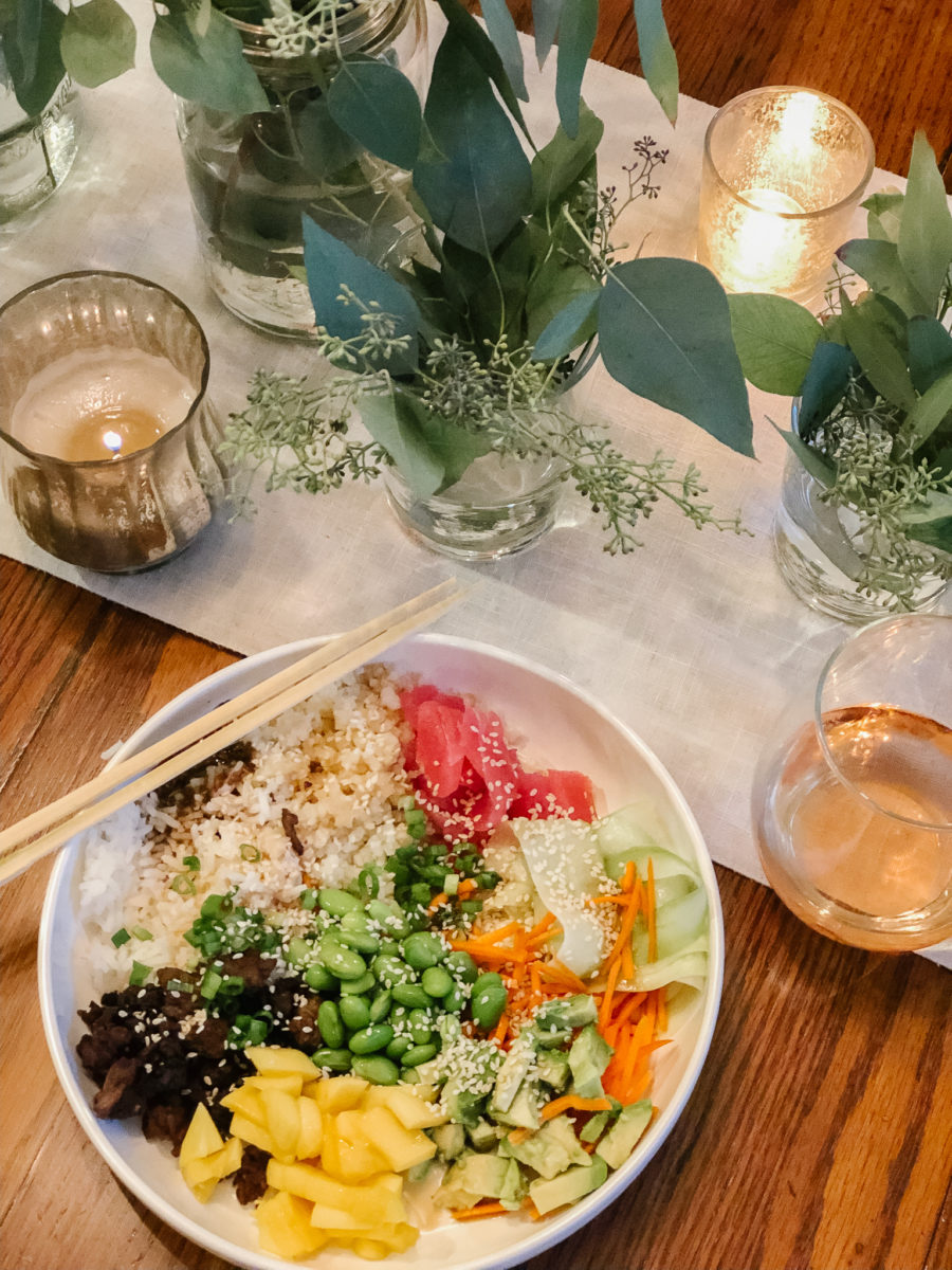 August Supper Club | Build Your Own Poke Bowl