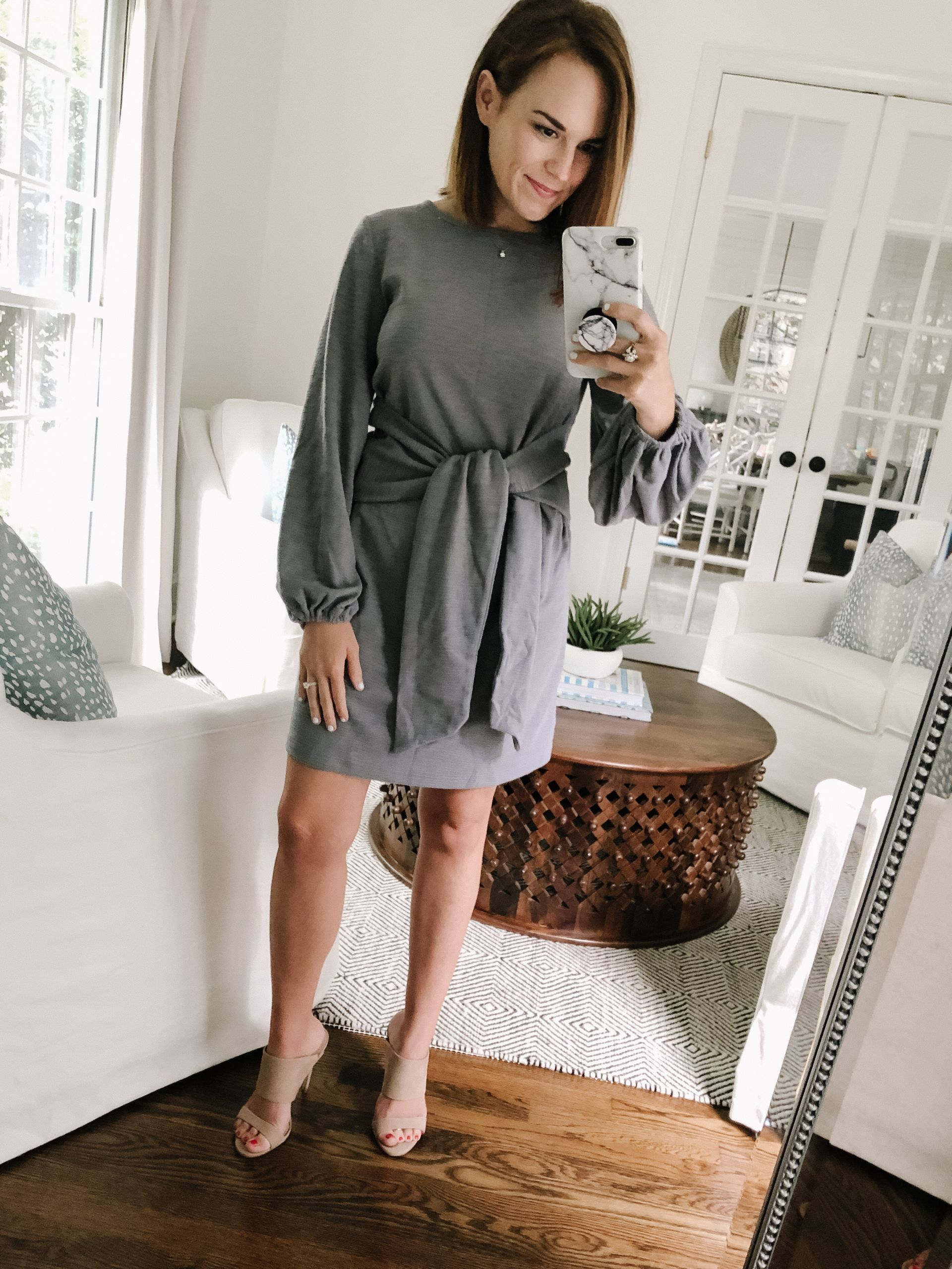 grey dress from amazon