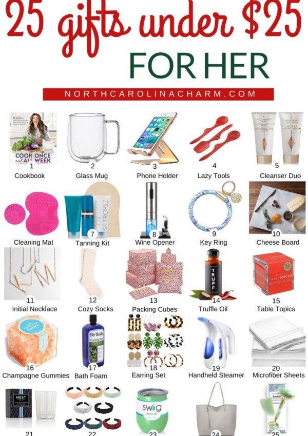Gift Guide + Stocking Stuffers For Her