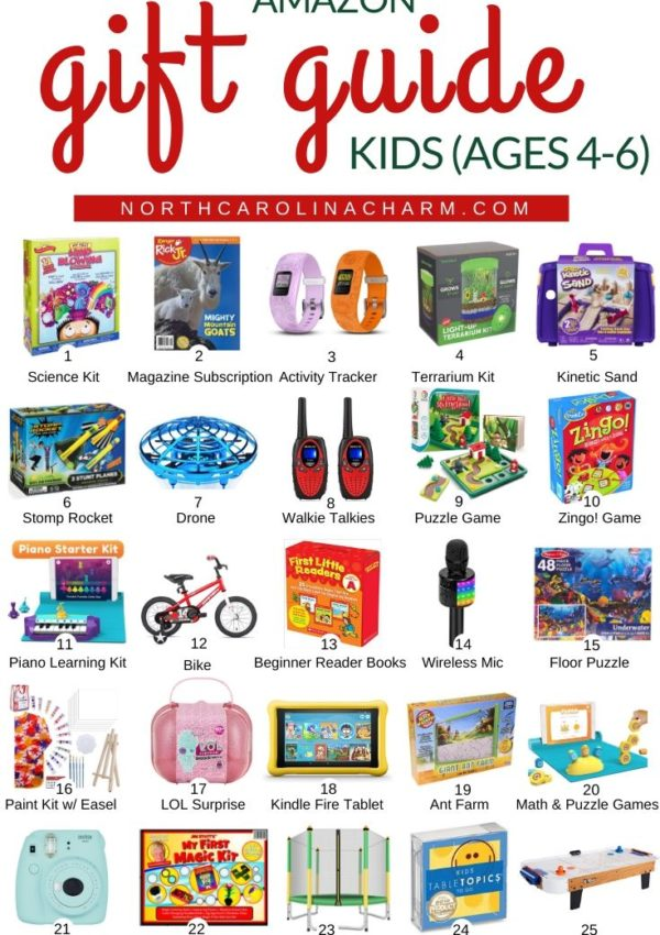 Amazon Gift Guide for Kids (Ages 2-6)