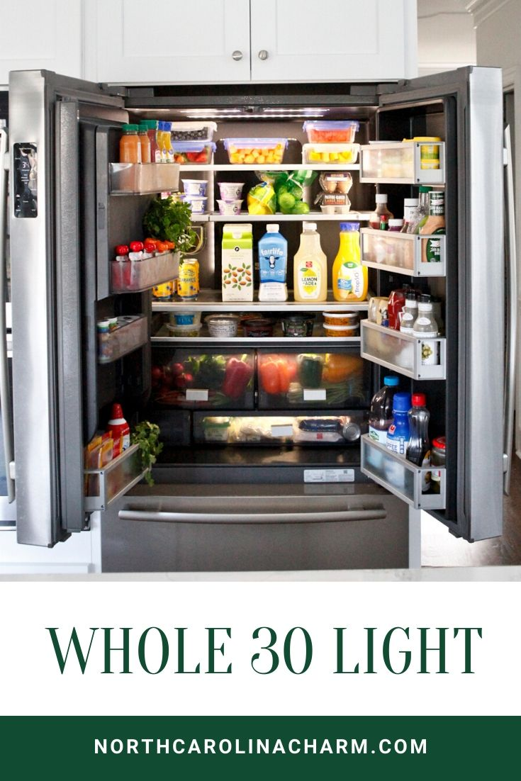 Whole 30 Light