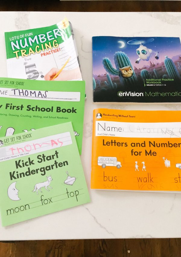 Learning From Home: Educational Resources For Pre-K & Kindergarteners