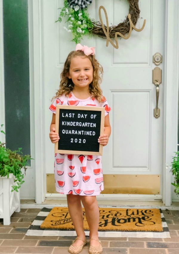 Caroline's Last Day of Kindergarten